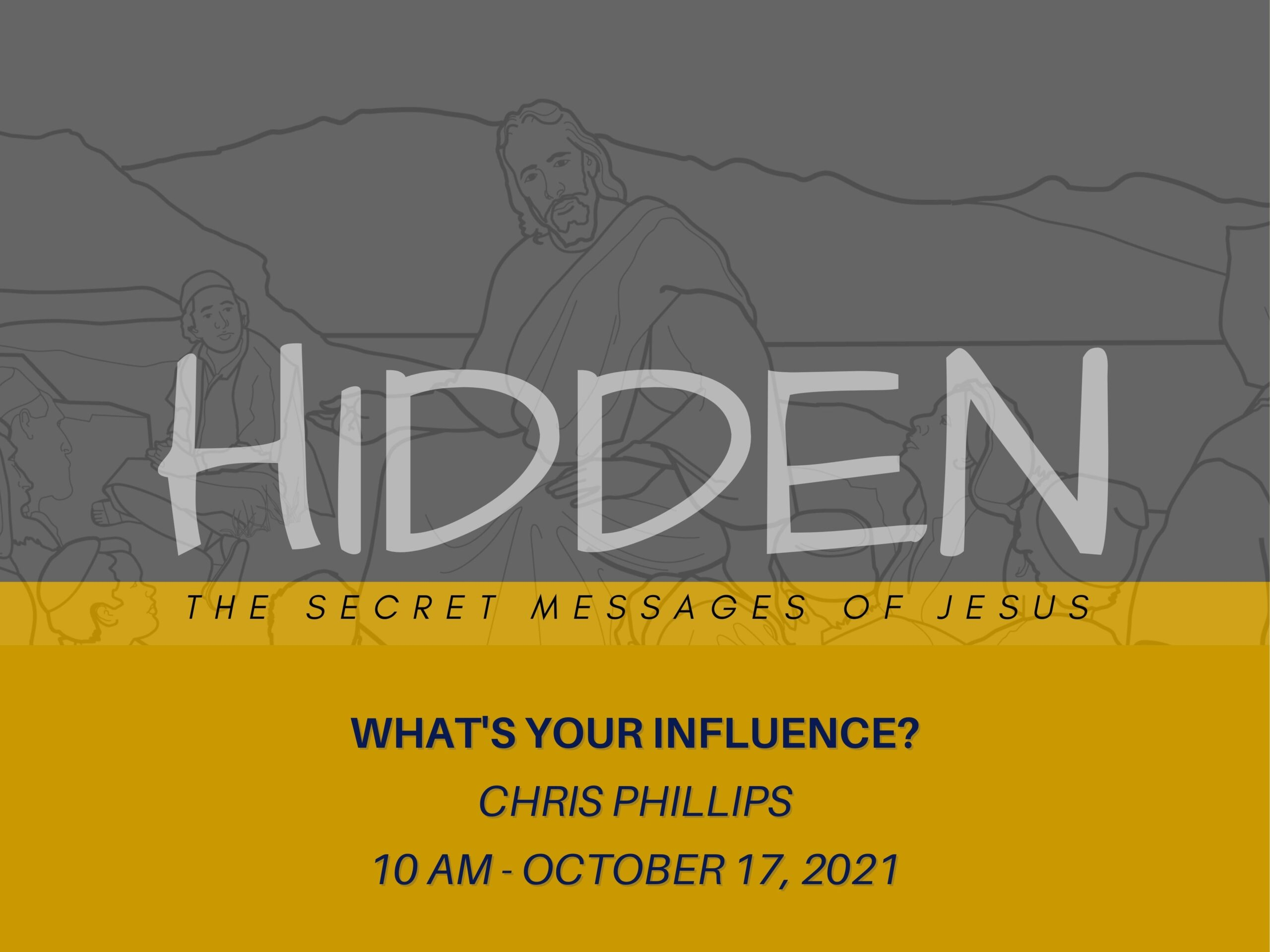 """Featured image for """"""""Hidden 2: What's Your Influence?"""" – October 17th 2021"""""""